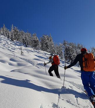 Ski touring Golden BC