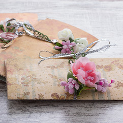 wedding invitations made of paper on wo