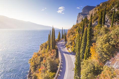 Gardesana Occidentale scenic route, Gard