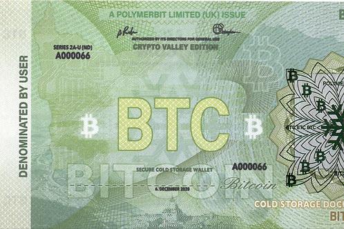 Non Denom BTC Crypto Valley Edition