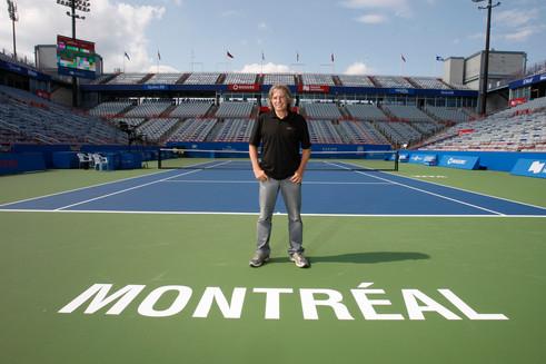 Eugène Lapierre, Tennis Canada / Tous droits réservés © Copyright L1Visuel Graphomax