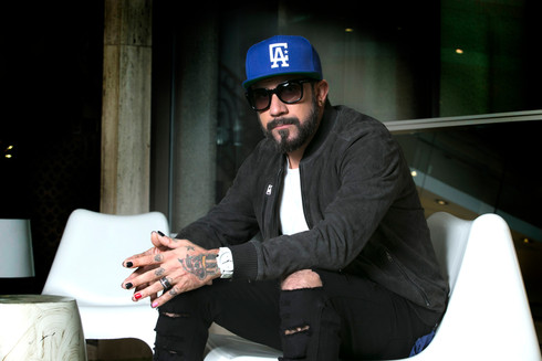 AJ McLean, Backstreet Boys / Tous droits réservés © Copyright L1Visuel Graphomax