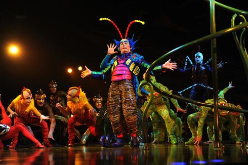 Cirque du soleil / Tous droits réservés © Copyright L1Visuel Graphomax