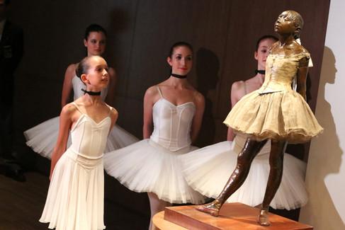 Statue du sculpteur Degas, La petite danseuse de quatorze ans (1881) / Tous droits réservés © Copyright L1Visuel Graphomax
