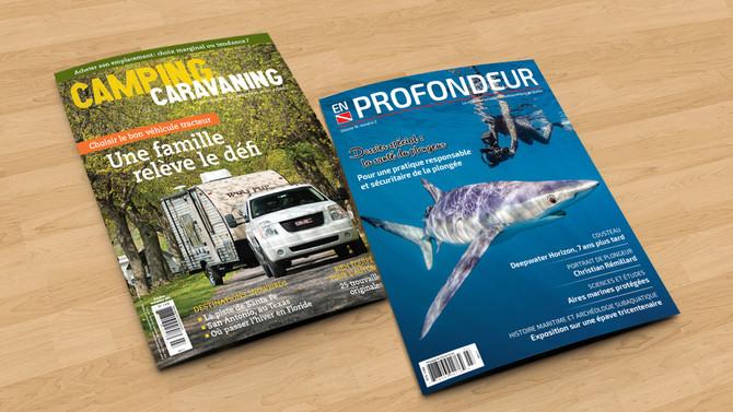 Les plus récents numéros de nos magazines
