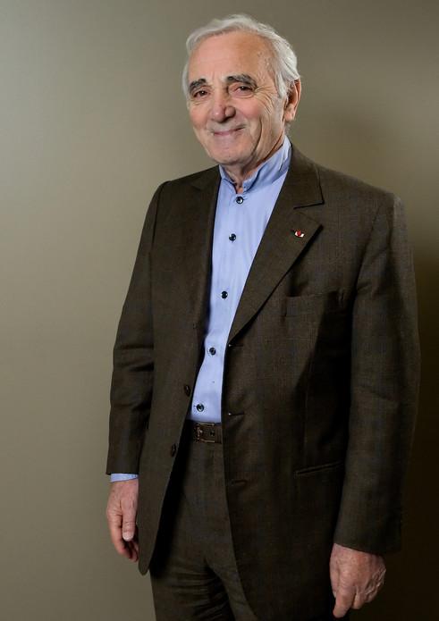 Charles Aznavour / Tous droits réservés © Copyright L1Visuel Graphomax