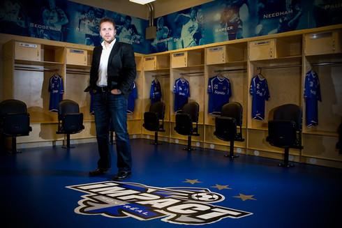 Marc Dos Santos, entraineur Impact de Montréal / Tous droits réservés © Copyright L1Visuel Graphomax