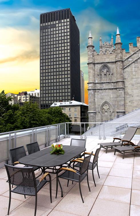 Hôtel le Saint-Sulpice, Luxury Hotel Montreal / Tous droits réservés © Copyright L1Visuel Graphomax