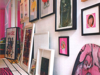 My Art Collection at my house