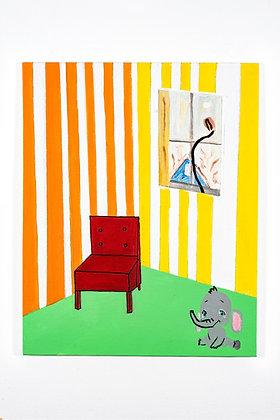 """Painting 06"", Print"