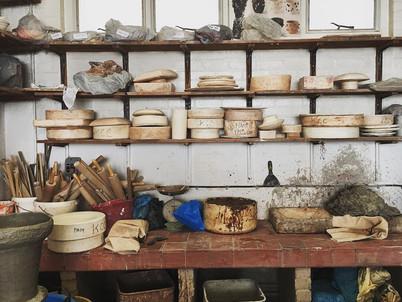 My ceramics studio today