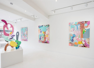Misha's London show, May 2019, installation view.