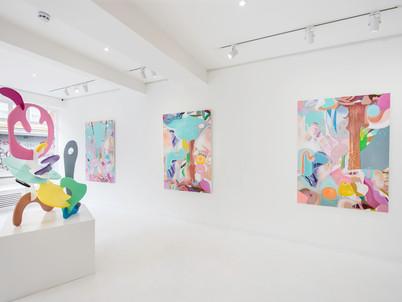 Misha's London show, May 2019, installation view.