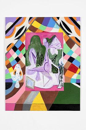 """Painting 08"", Print"