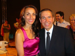 With Jeff Koons in London @ The Serpentine Gallery lecture
