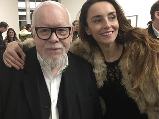 With one of my Art heroes, Sir Peter Blake