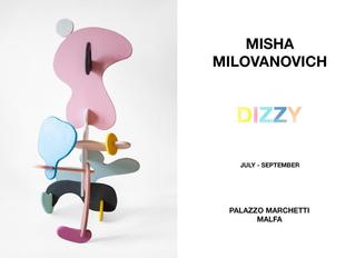 Invite for my exhibition at The Palazzo Marchetti, Salina, Sicily.