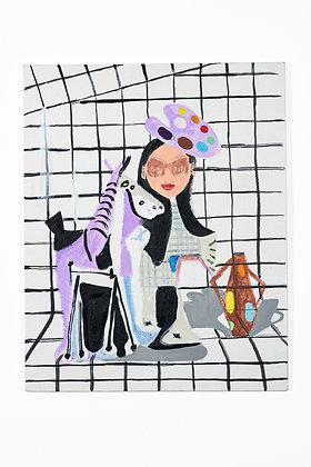 """STUDIO"", Painting 16, Print"