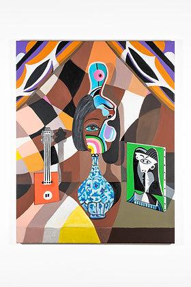 """Painting 01"", (From the Studio Lockdown Series), Print"