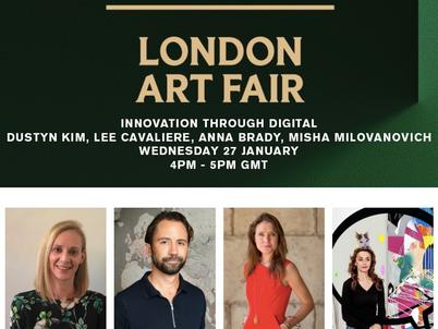 London Art Fair Panel Discussion