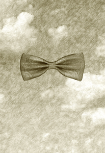 """""""BOWTIE"""" Evanescence Series, 2013, Graphite and Ink on Archival Paper H: 84, 1 x W: 60 cm"""