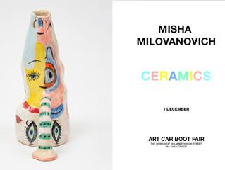 Misha's ceramics at Art Boot in London