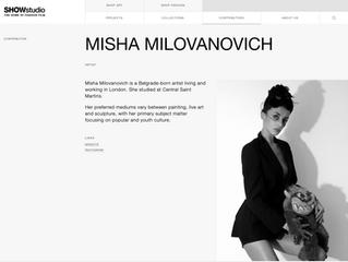 SHOW STUDIO proudly presents Misha Milovanovich