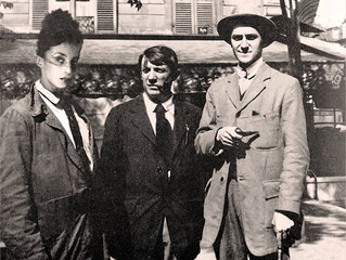 Abstract Impressionism, Misha with Pablo Picasso and Amedeo Modigliani.