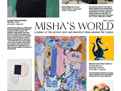 Misha's Monthly Newsletter