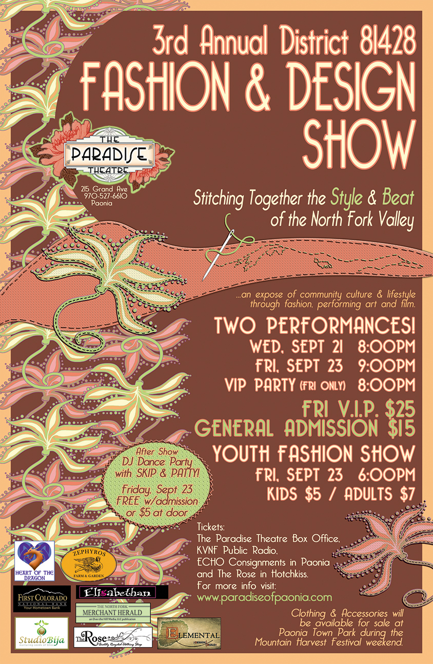 Fashion & Design Show Poster