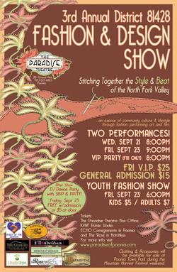 Fashion & Design Show Poster