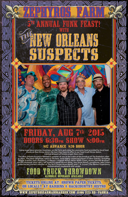 New Orleans Suspects poster