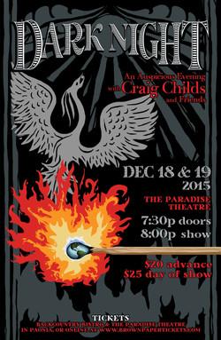 DARK NIGHT 2015 poster