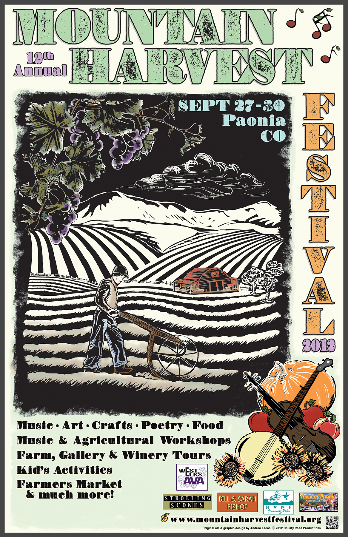 Mountain Harvest Fest poster