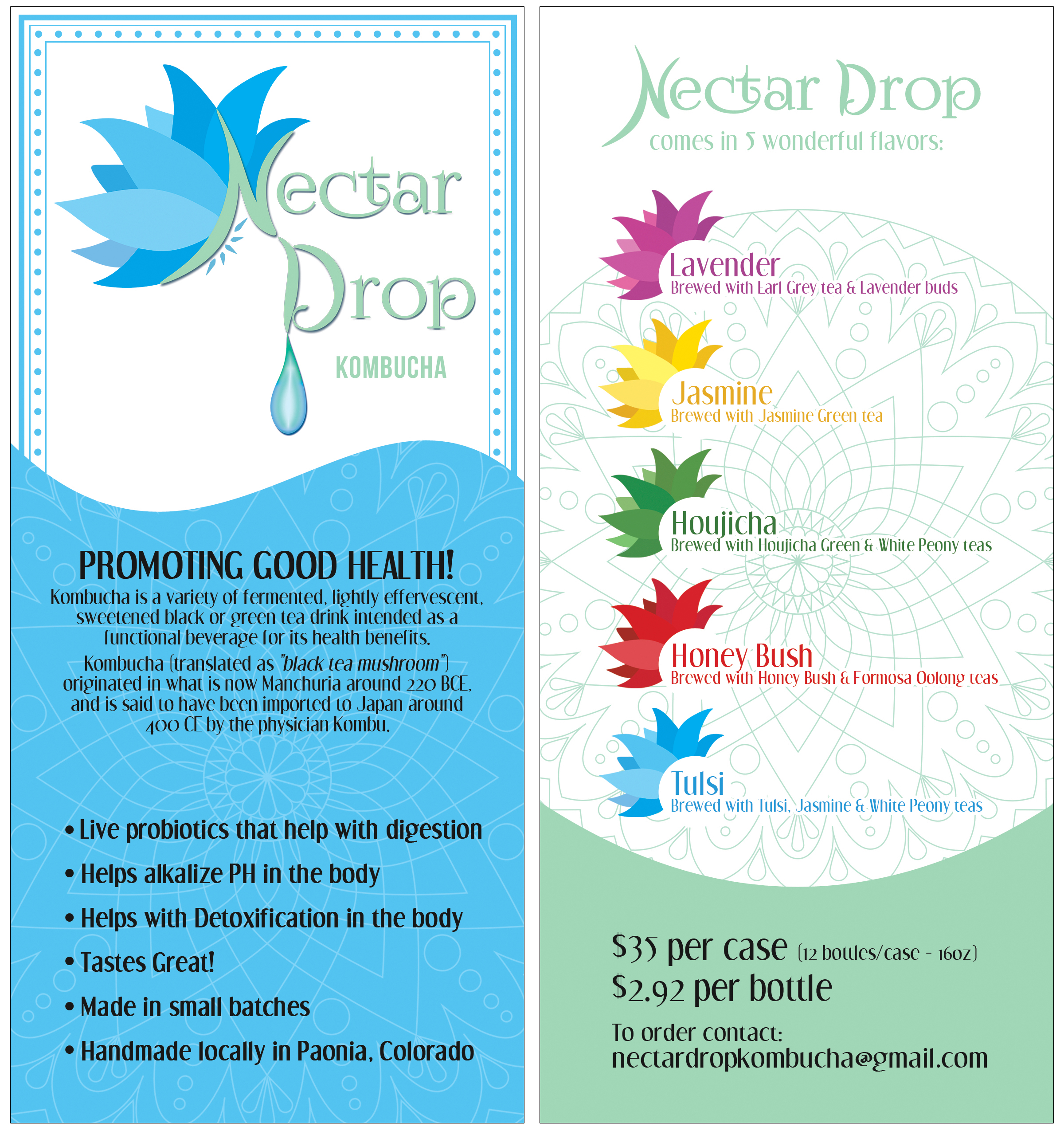 Nectar Drop Brochure