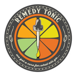 Remedy Tonic label