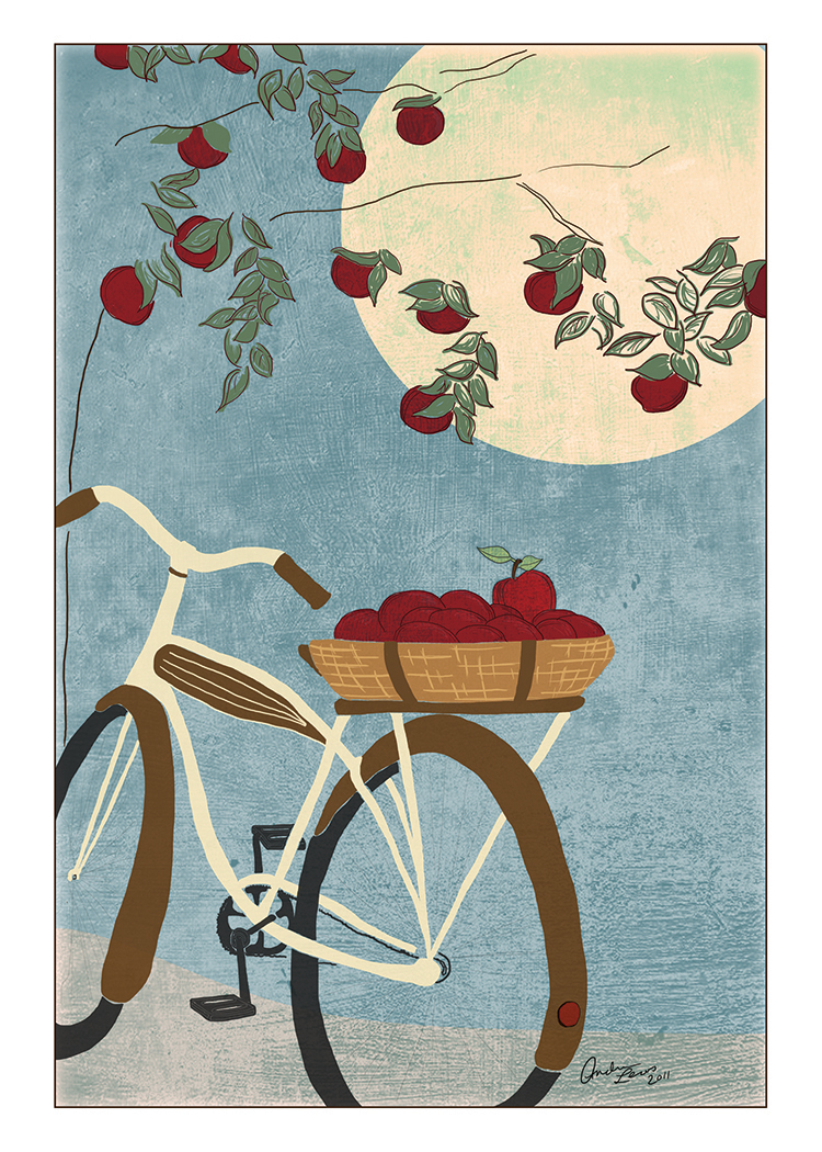Bicycle Harvest - Fall