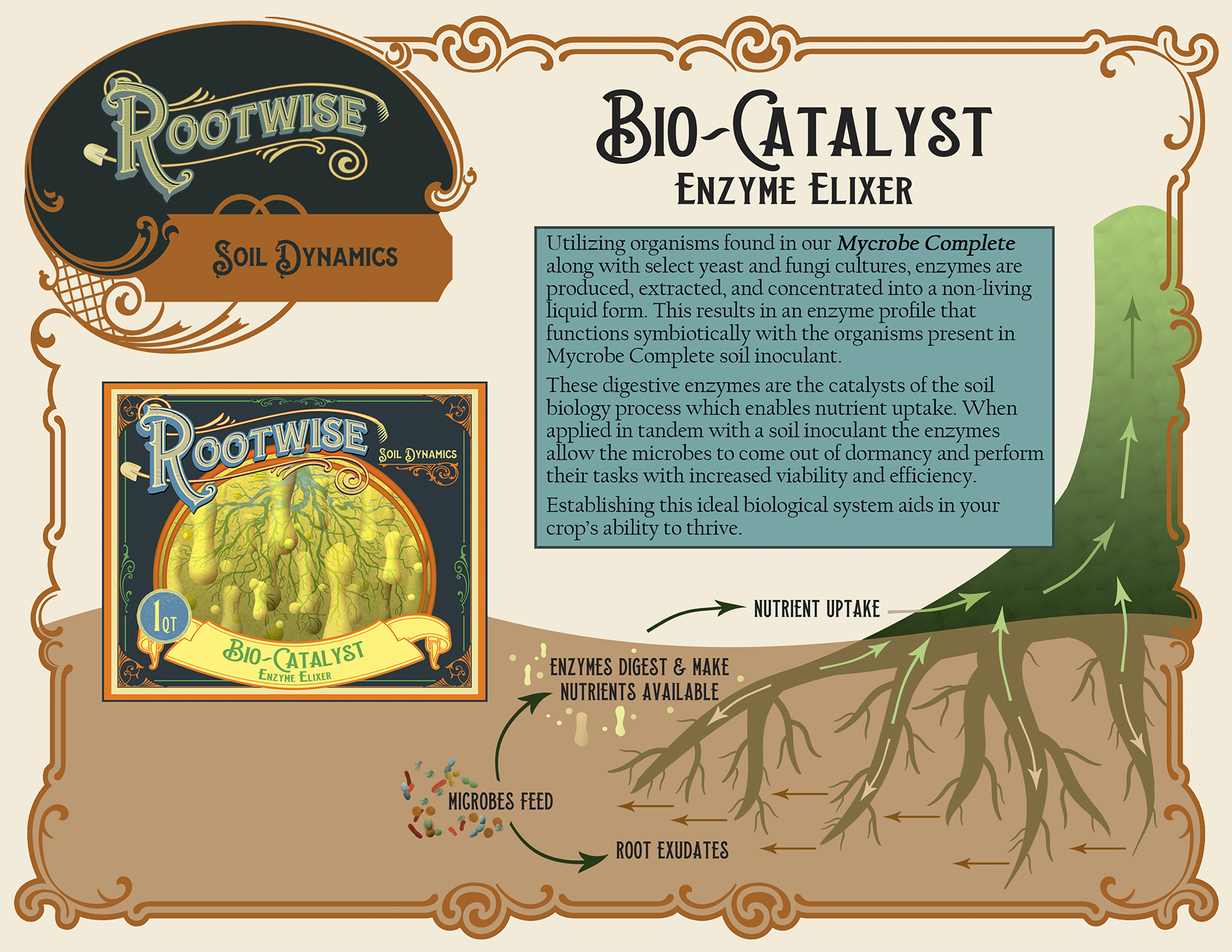 Rootwise Bio-Catalyst sheet