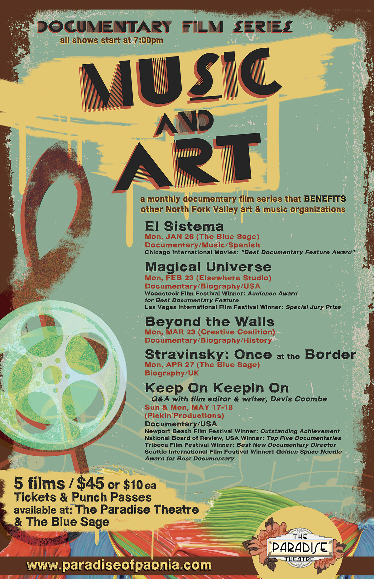 Music-Art Doc Poster