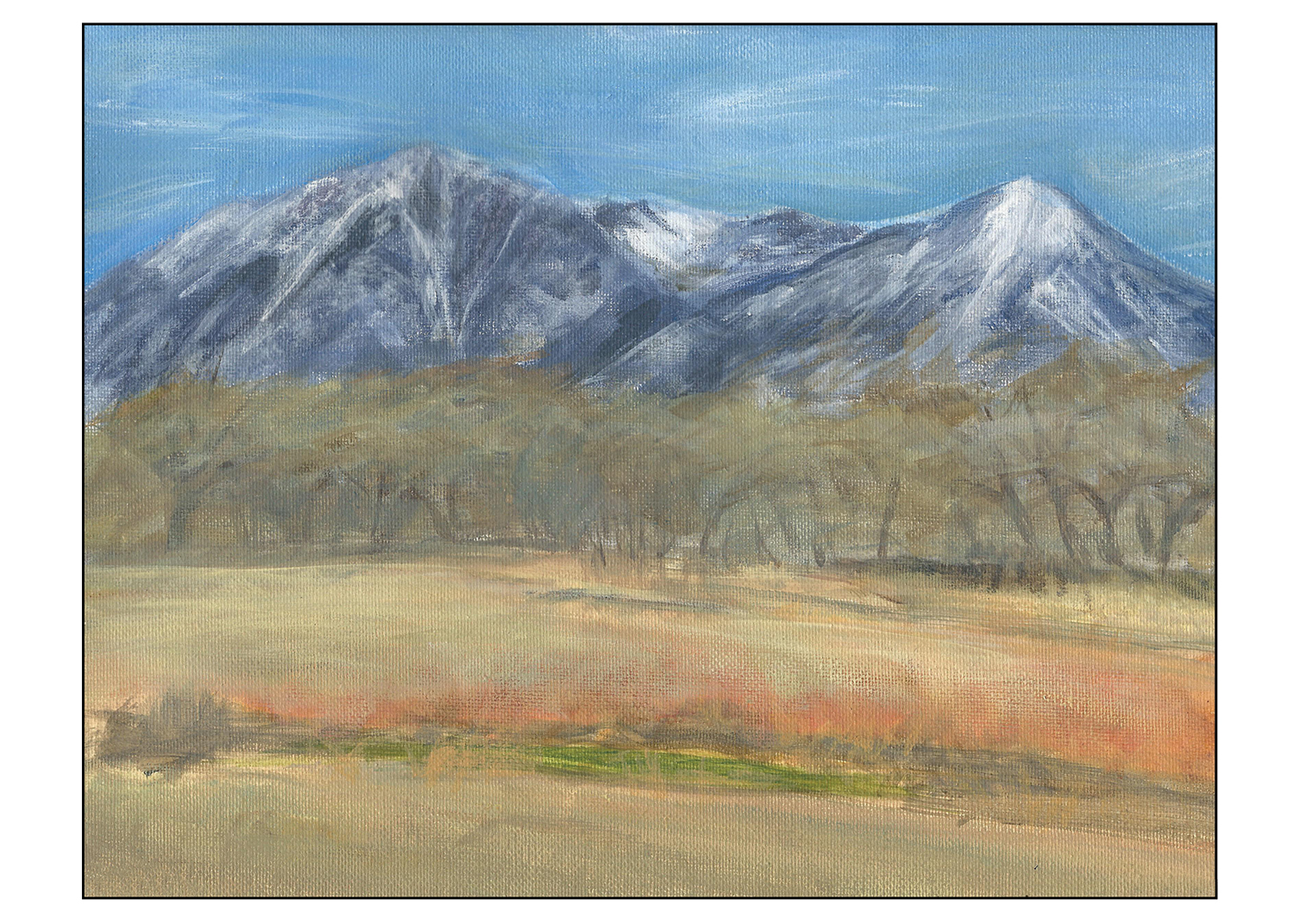 Mt. Lamborn plein air