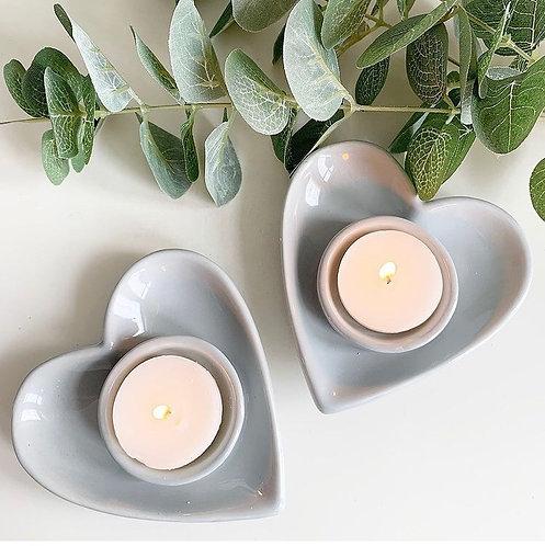 Love Heart Tea Light Holder