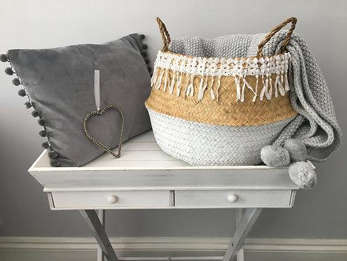 Lacy Storage Basket