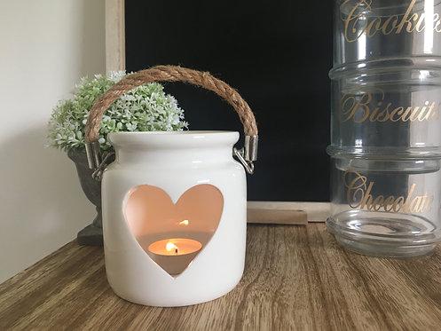 Large Heart Lantern