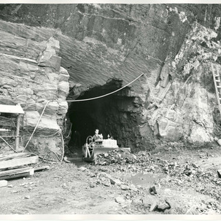 Dozing Rock at Tunnel #2 Circa 1954