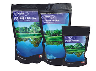 Pond Pro Blue Pond Dye for lakes, ponds, dugouts great for algae control