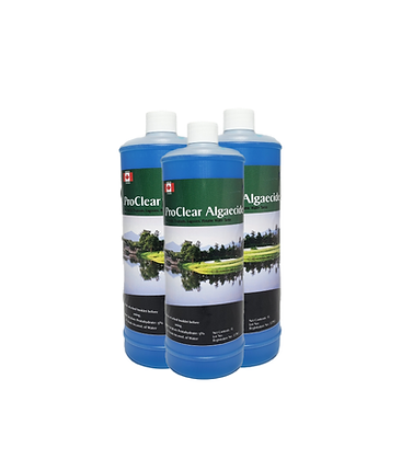 ProClear safe and natural algaecide treatment solution for eutrophic green problem ponds best paired with aeration