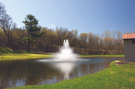 Kasco Decorative Floating Pond & Lake Water Fountain with multiple spray nozzles