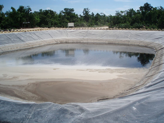 Water Aeration, pollutant reduction in leachate ponds and landfill water