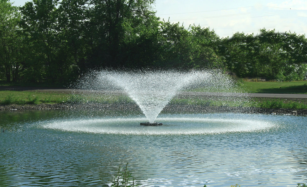 Kasco Marine Aerating Fountains for ponds in Canada