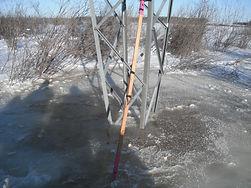 De-Icing Power Line in Manitoba
